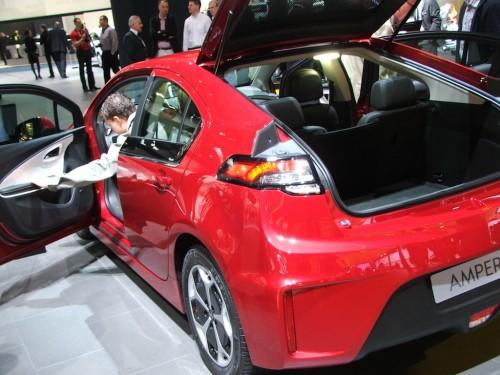 autosalon Frankfurt 2011 Opel Ampera