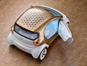 auto elektromobil Smart Forvision
