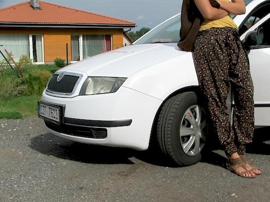 auto elektromobil test elektrická Škoda Fabia přestavba EVC Group