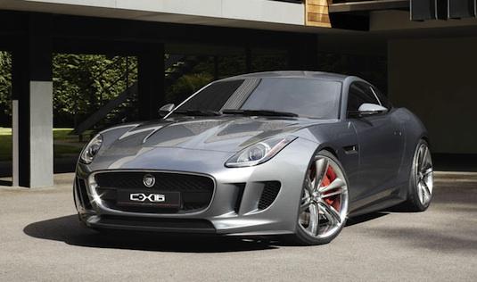 auto hybrid Jaguar C-X16