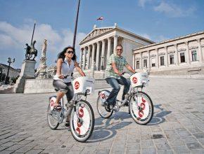 elektrokolo Vídeň jízdní kola CityBike