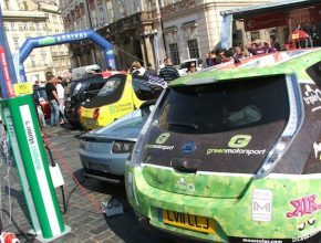 elektromobil Wave 2011 Praha