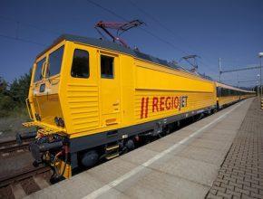 železnice regiojet lokomotiva