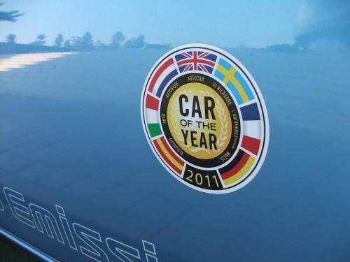 elektromobil Nissan Leaf Car of the Year - auto roku 2011