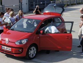 auto Volkswagen Up Škoda Citigo rekord