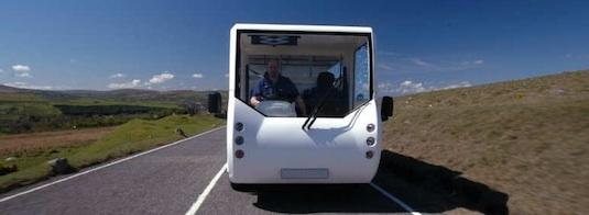 elektromobil Bluebird - elektrický náklaďák