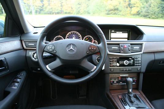 Mercedes E200 NGT na CNG