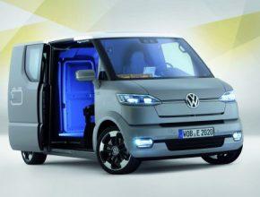 elektrická dodávka Volkswagen eT!