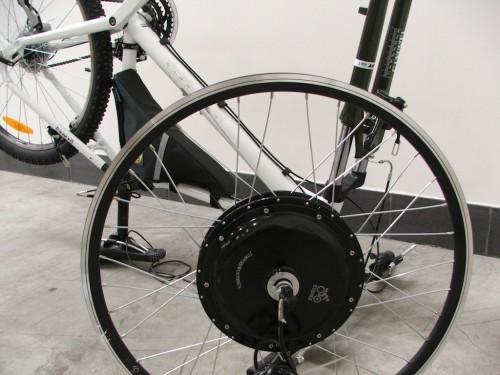 jak postavit elektrokolo - přestavba jízdního kola na elektrokolo s pomocí sady EVBike