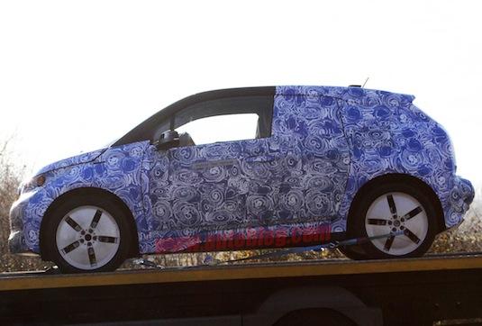 auto BMW i3 REx spy foto