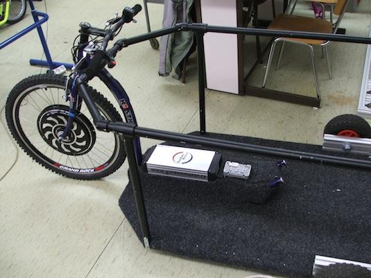 auto elektromobil ZČU elektrokolo pro vozíčkáře