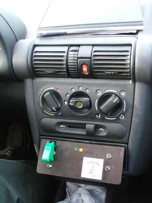 auto elektromobil Opel Corsa baterie Thundersky