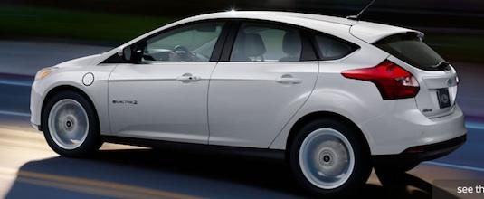 auto elektromobil Ford focus Electric