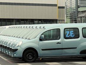 auto elektromobil Renault Kangoo Z.E. Francie