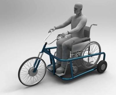 auto elektromobil ZČU vozítko pro vozíčkáře designová studie