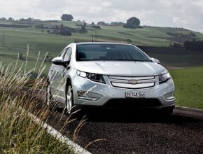 auto hybrid Chevrolet Volt Euro NCAP test bezpečnosti