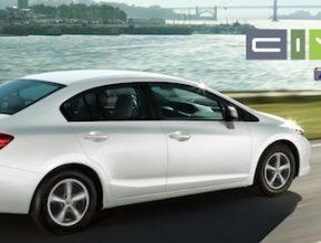 auto na plyn Honda Civic GX auto na zemní plyn