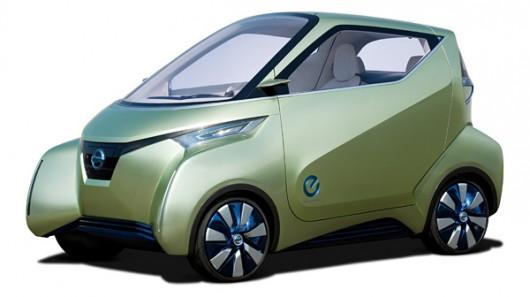 elektromobil Nissan Pivo 3