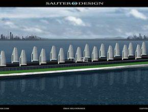 lodě Deliverance solární loď ropný tanker