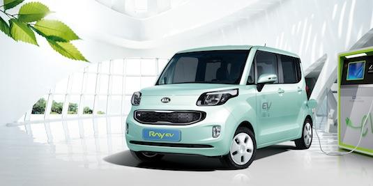 auto elektromobil Kia Ray EV