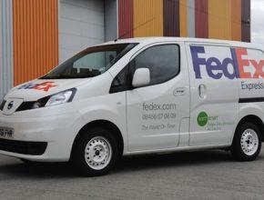 auto elektromobil Nissan NV200 EV prototyp FedEx