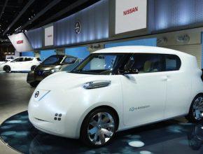 auto elektromobil Nissan Townpod