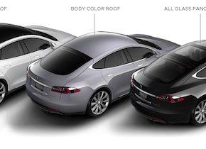 auto elektromobil Tesla Model S prodej