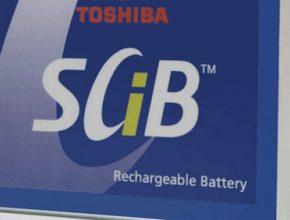 auto elektromobil Toshiba SCiB baterie