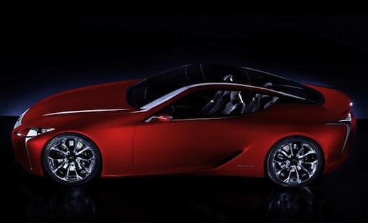auto hybrid Lexus LF-LC