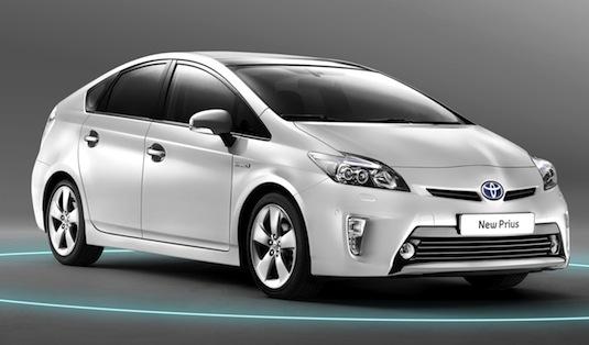 auto hybrid nová Toyota Prius