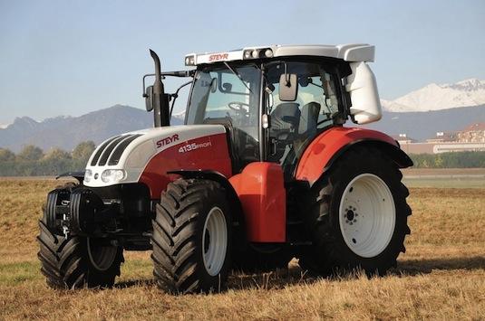 auto na plyn CNG traktor Steyr