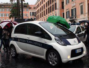 Elektromobily Řím