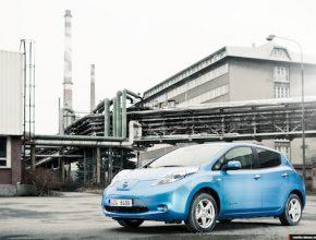auto elektromobil Nissan Leaf - Ondřej Zeman