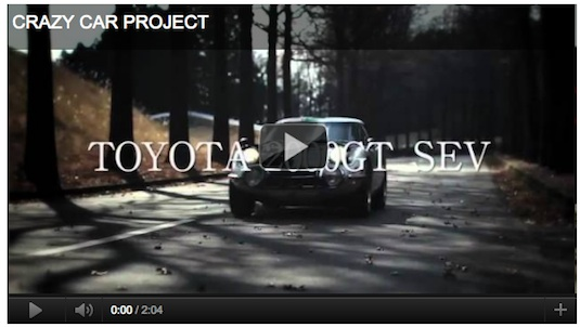 auto elektromobil Toyota 2000GT solární auto