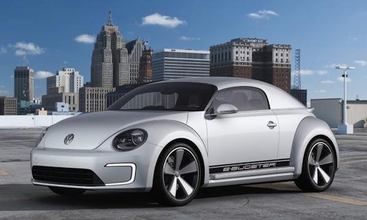 auto elektromobil Volkswagen e-Bugster
