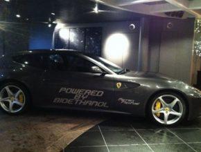 auto Ferrari FF bioethanol