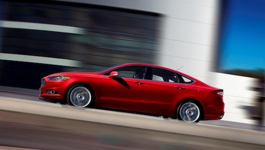 auto Ford Fusion 2012