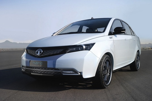 auto hybrid Tata Manza Hybrid