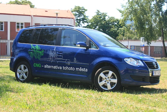 auto na plyn CNG Volkswagen