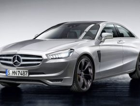 auto na vodík Mercedes-Benz Superlight E Class