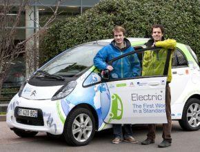 auto elektromobil elektrická odyssea elektromobil Citroen C-Zero
