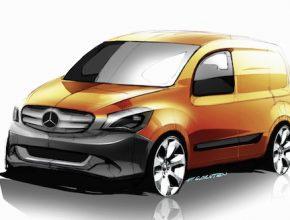 auto elektromobil Mercedes-Benz Citan
