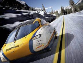 auto elektromobil SolarWorld GT solární auto