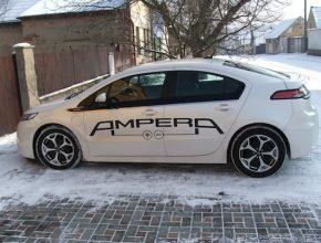 auto hybrid test Opel Ampera