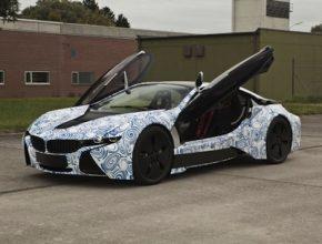 auto plug-in hybrid BMW i8