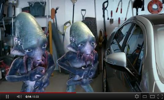 auto plug-in hybrid Chevrolet Volt video reklama