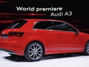 auto Audi A3 Autosalon Ženeva 2012