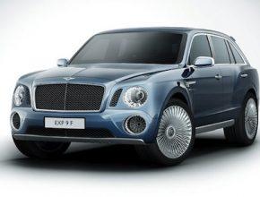 auto Bentley EXP F 9 SUV