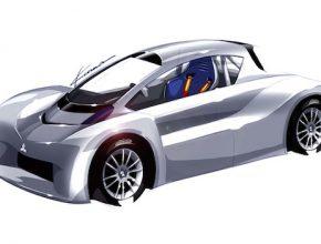 auto elektromobil Mitsubishi iMiEV závodní