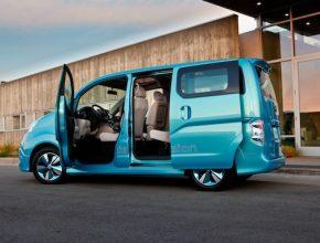 auto elektromobil Nissan e-NV200